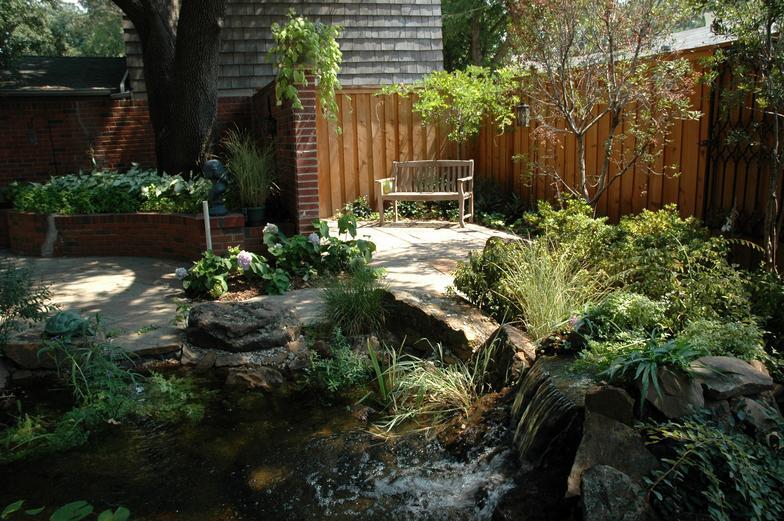 North dallas garden design for Garden design dallas